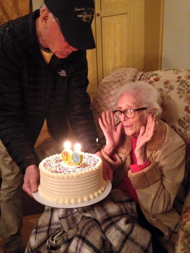 Mom, Me and Cake